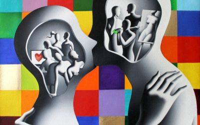Il Maestro Internazionale Mark Kostabi alla Biennale del Belvedere