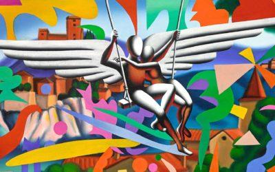 """Biennale del Belvedere: Sezione """"Tributo a Mark Kostabi"""""""